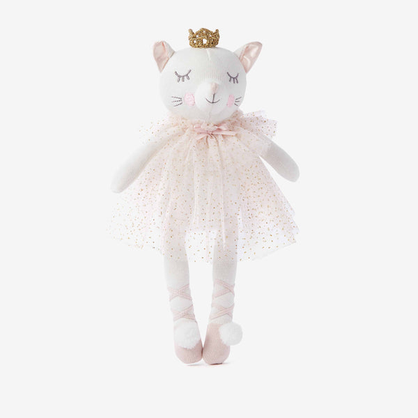 "15"" Princess Kitty Baby Knit Doll"