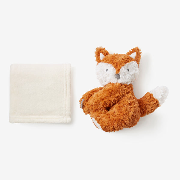 Fox Swirl Naptime Huggie Plush Toy