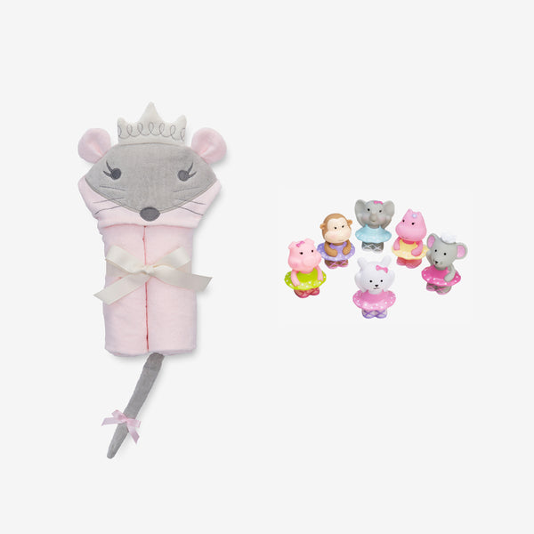 Ballerina Baby Bath Set