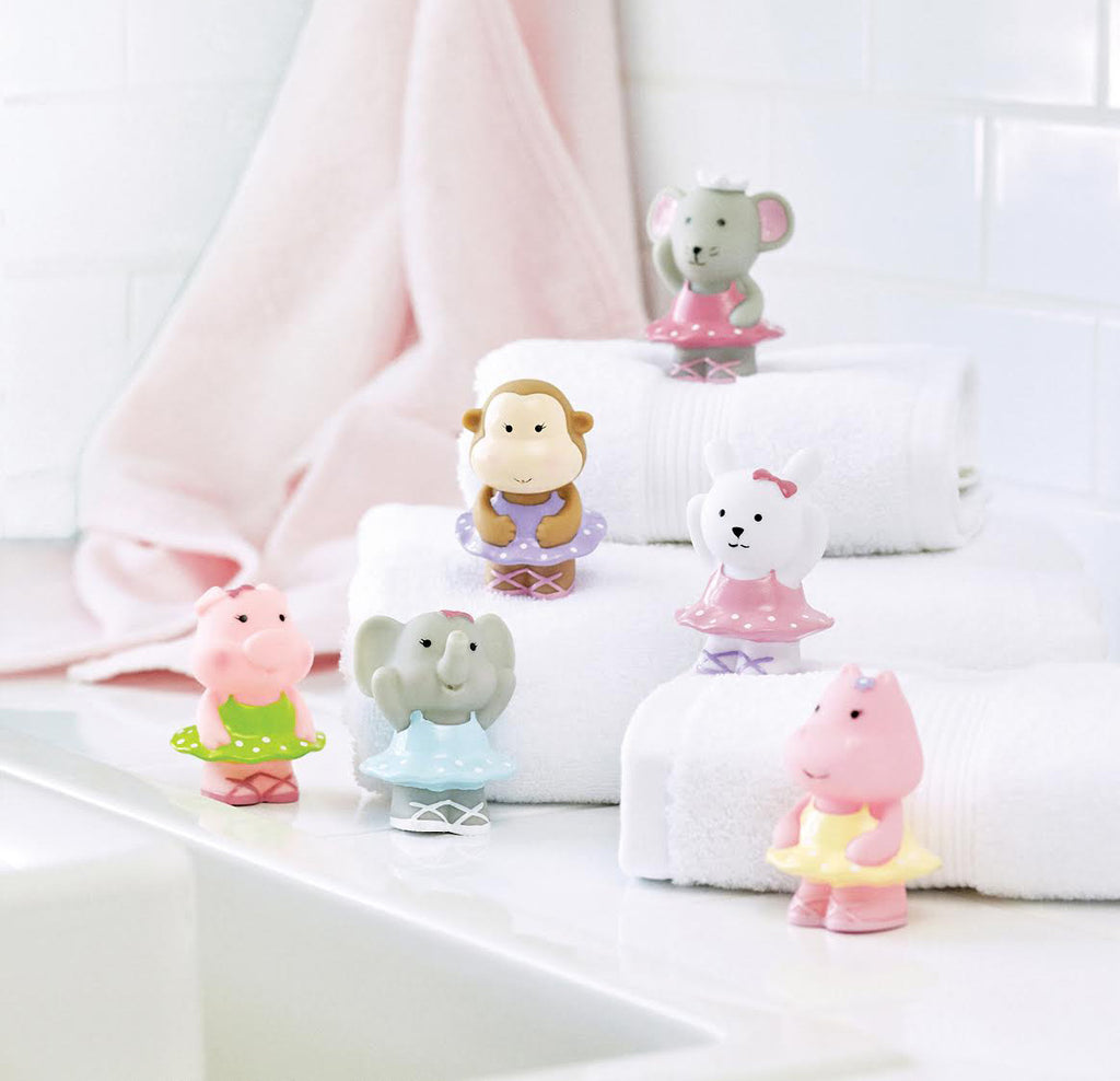 Ballet Party Squirtie Baby Bath Toys