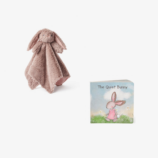 Annabelle Bunny Security Plush + Board Book Set