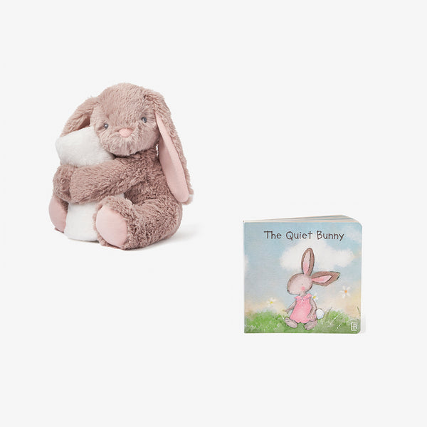 Annabelle Bunny Naptime Plush + Board Book Set