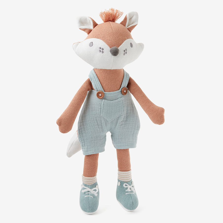 "15"" Felix the Fox Baby Knit Toy"