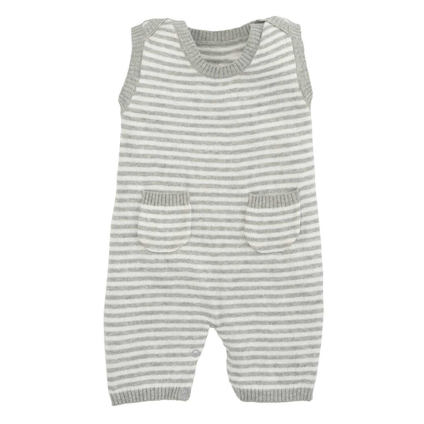 Gray Stripe Shortall