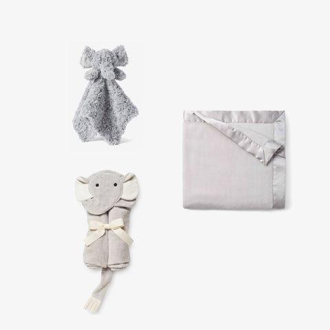 Plush Elephant Baby Gift Set
