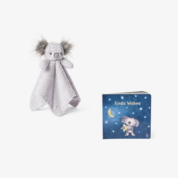 Joey Koala Security Plush + Board Book Set