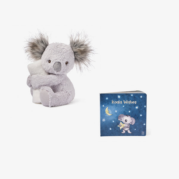 Joey Koala Naptime Plush + Board Book Set