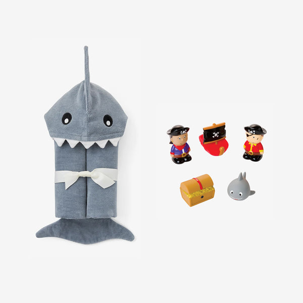 Shark Baby Bath Set