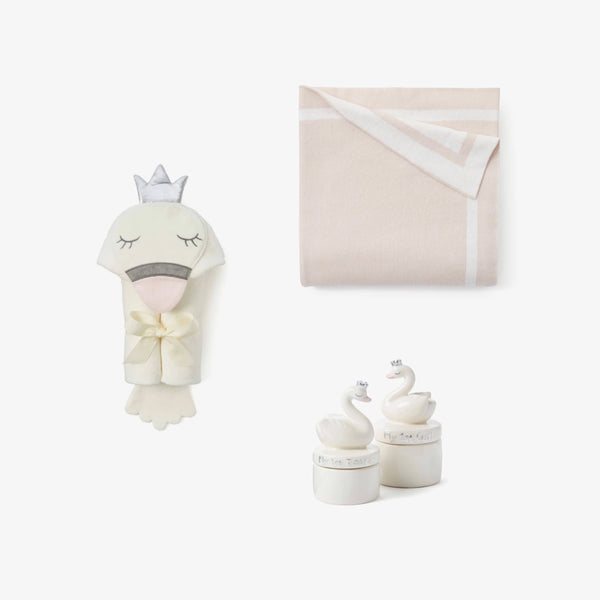 Welcome Home Swan Baby Gift Set