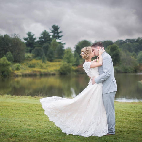 Amelia's Romantic Lake Wedding | Amelia