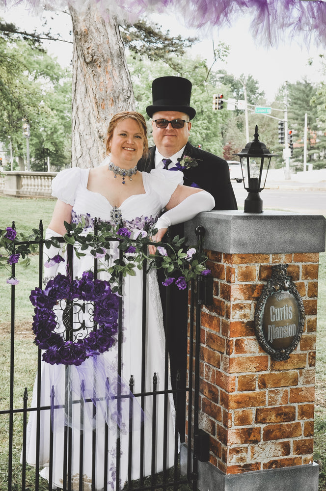 Angi's Haunted Mansion Wedding