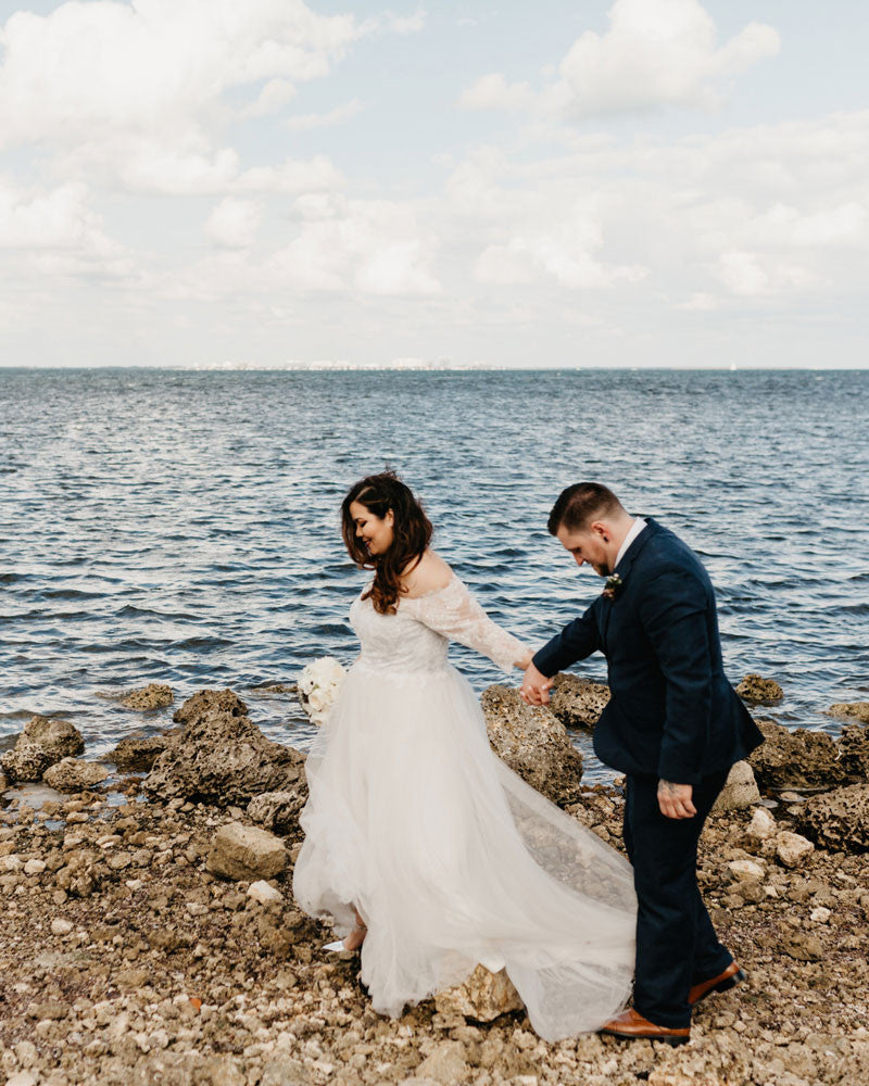 Gaby's Destination Beach Wedding | Gaby