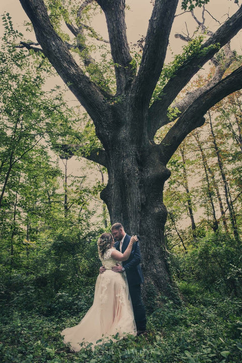 Amanda's Enchanted Forest Wedding | Korynne
