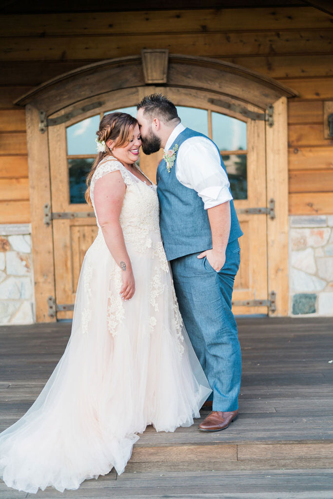Anna's Romantic Farm Wedding | Korynne