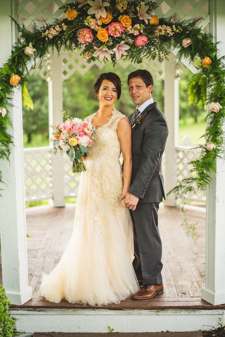 Ashley's Fairy Tale Garden Wedding | Korynne