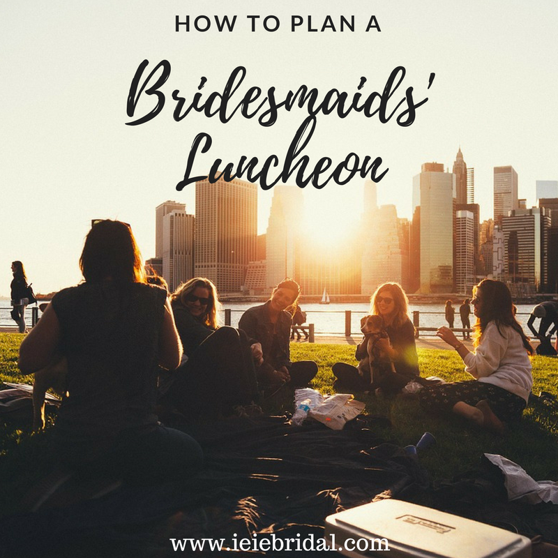 How to Plan a Bridesmaids' Luncheon