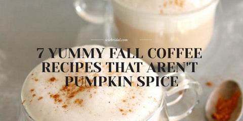 7 Yummy Fall Coffee Recipes That Aren't Pumpkin Spice