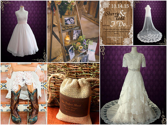 Country Rustic Wedding Theme Inspiration