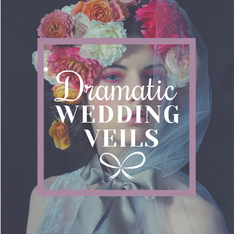 Dramatic Wedding Veils