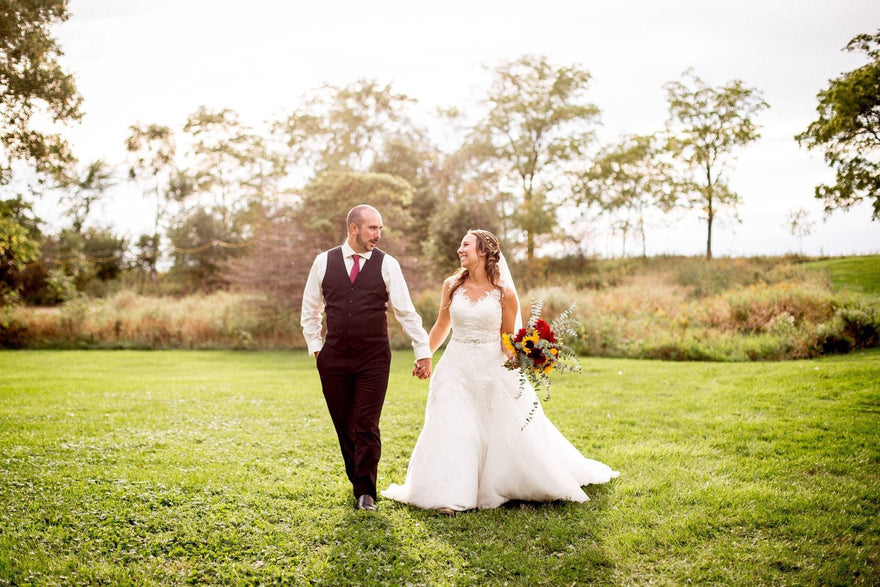 Annise's Beautiful Garden Wedding