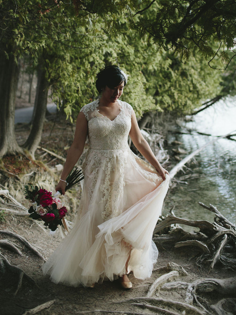 Kar-Lai's Enchanted Garden Wedding | Korynne