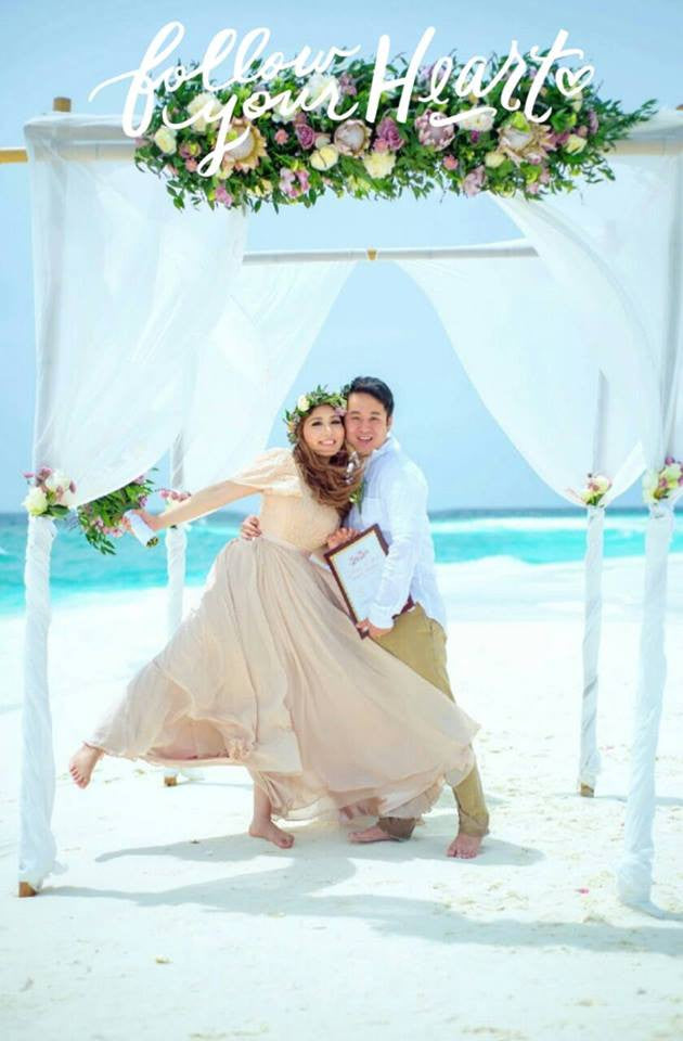 Moe's Maldives Destination Vow Renewal | Patricia