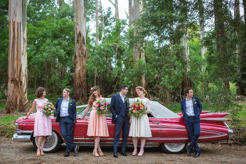 5 Fabulous Dresses for a Retro Wedding