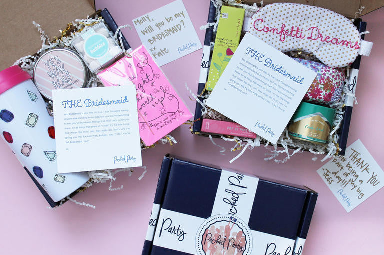 Bridesmaid Gift Boxes