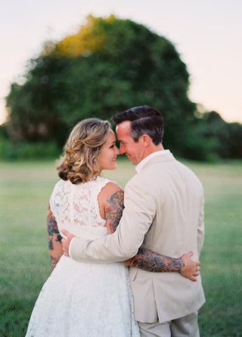 Brittany's Retro Destination Wedding