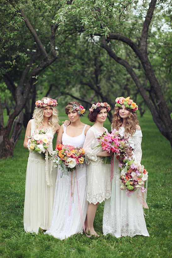 A Midsummer Night's Dream Wedding Inspiration
