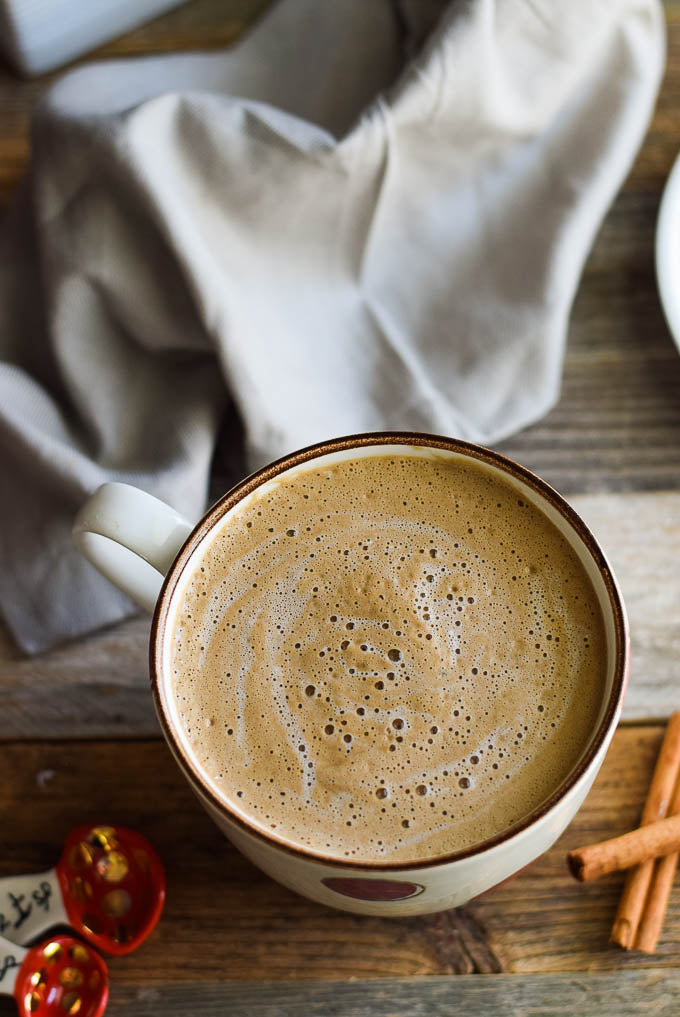Dairy Free Cinnamon Roll Latte Recipe