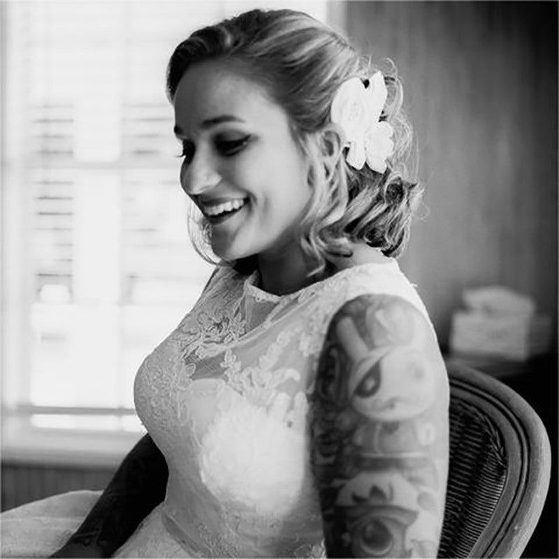 Wedding Dresses for the Tattooed Bride