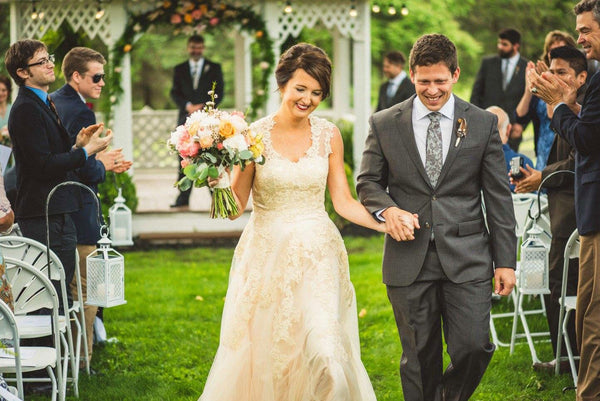 Ashley's Enchanted Garden Wedding in Glendale Manor