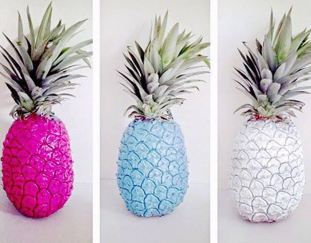 Summer Bachelorette Party Ideas - Pineapple Decor