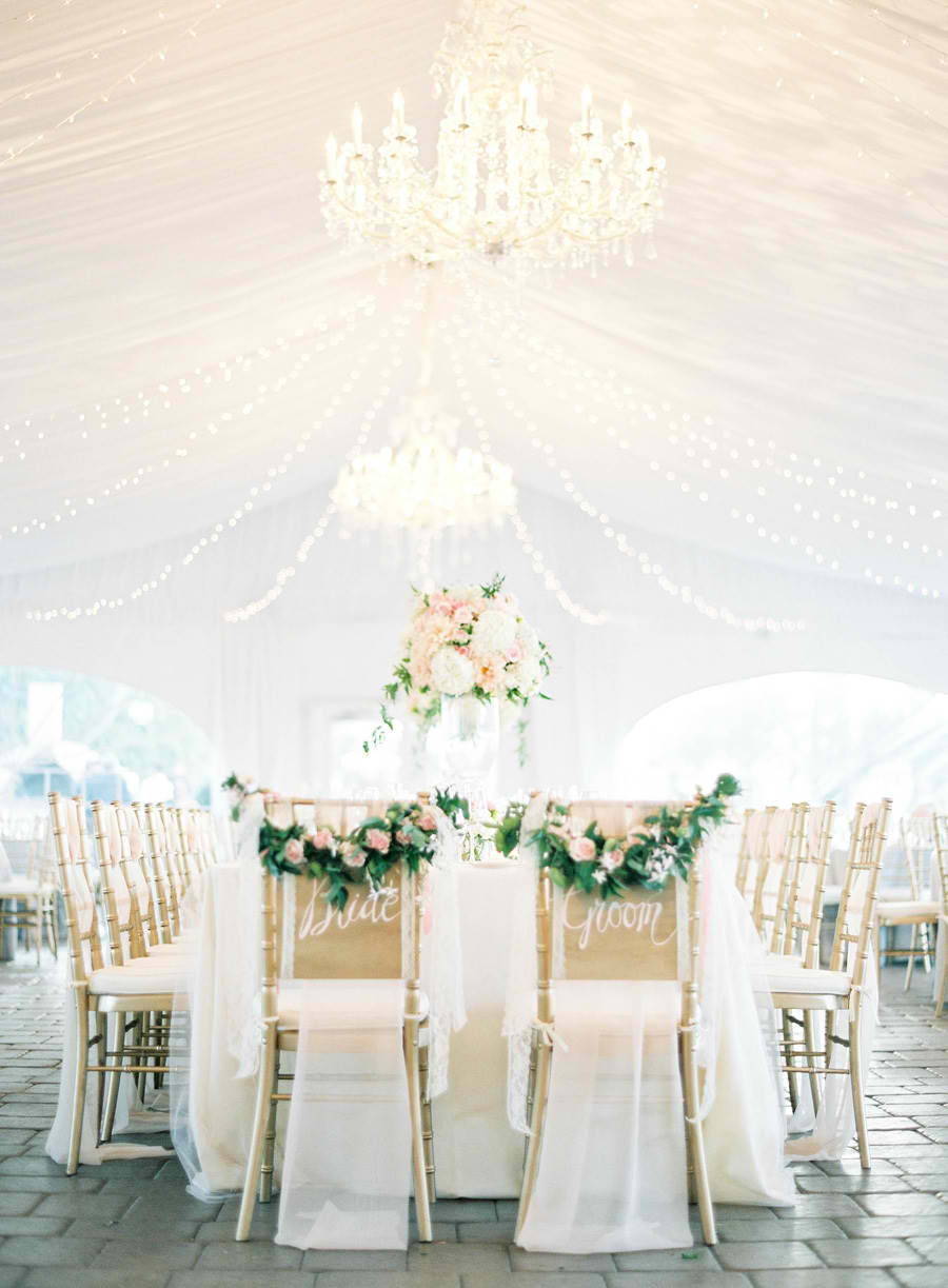 Ballet-inspired Wedding Reception Decor