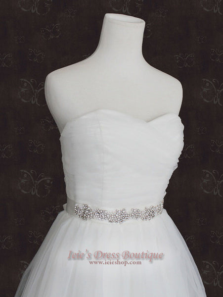 Jeweled Bridal Sash