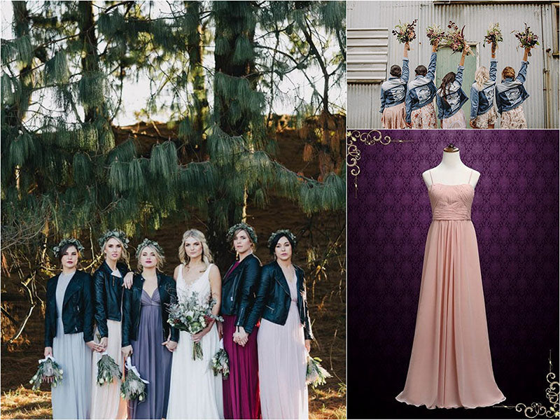 Bridesmaid Dress Alternatives: Jackets