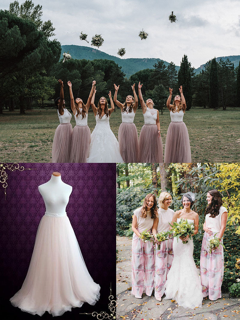 Bridesmaid Dress Alternatives: Separates
