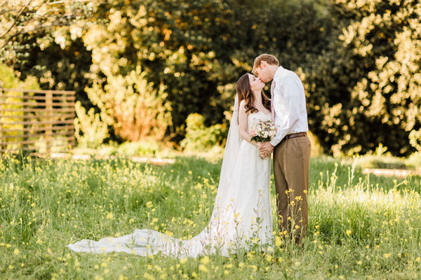 Kathryn's Fairy Tale Garden Wedding