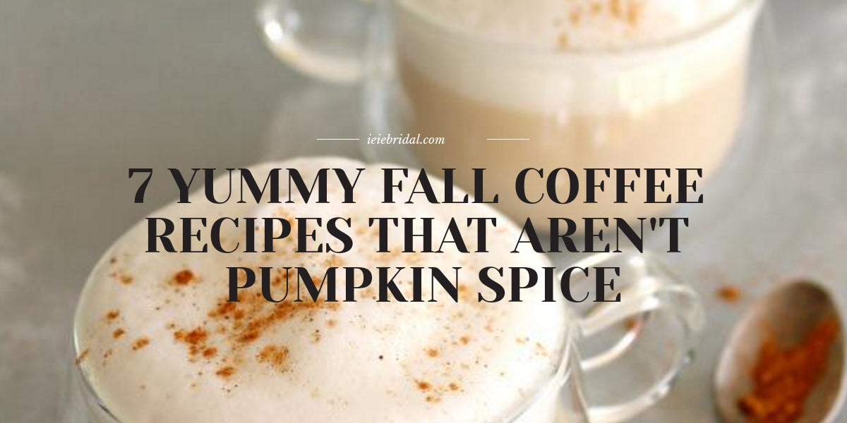 Fall Coffee Recipes That Aren't PSL