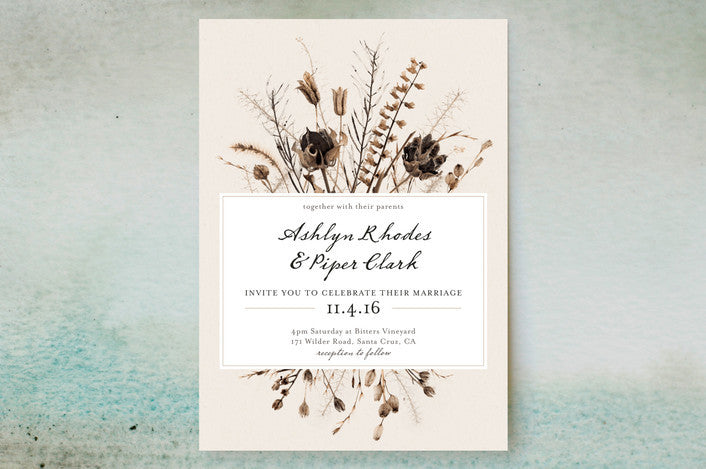Country Wedding Invite
