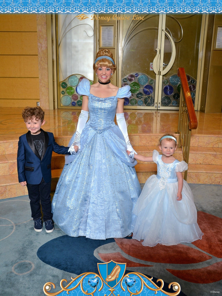Disney Cruise Cinderella Dress Up