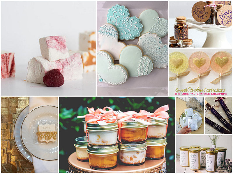 Flavorful Wedding Favors