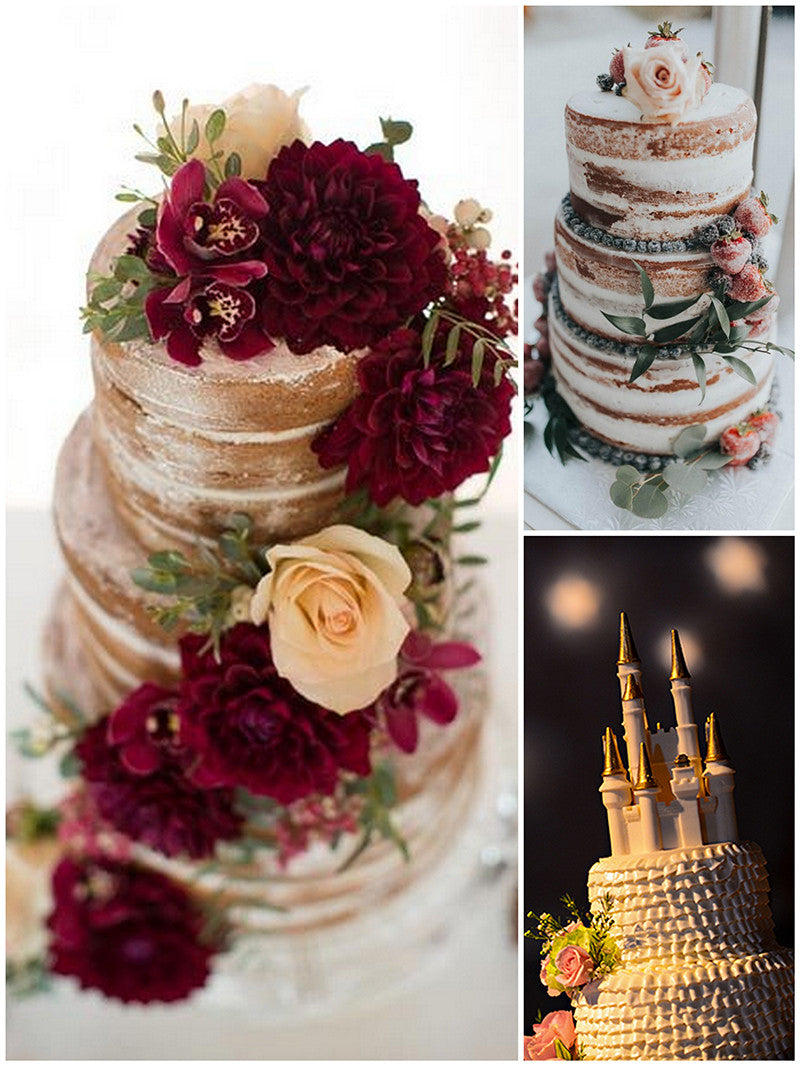 Fairy Tale Wedding Cakes