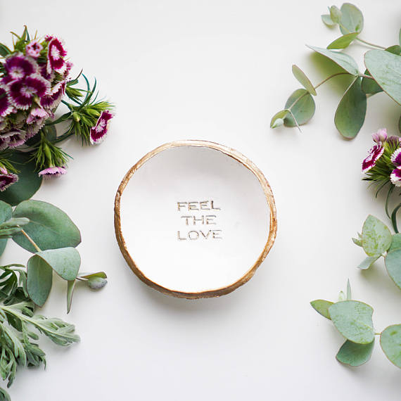 Feel the Love Ring Dish