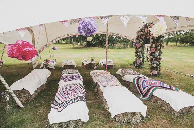Festival Wedding Seating