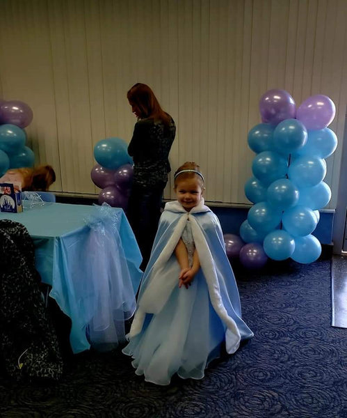 Princess Seirra in Her Cinderella Dress