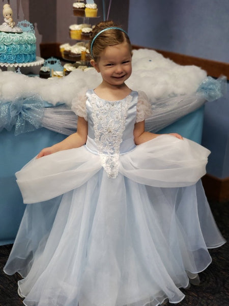 Princess Sierra in Cinderella Dress