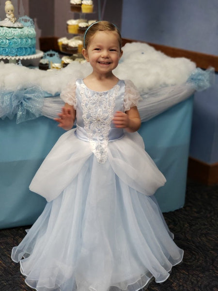 Princess Sierra in Cinderella Princess Dress