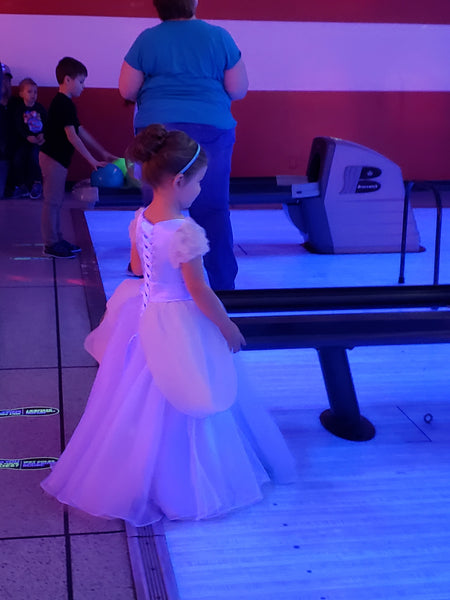 Princess Sierra in her Princess Dress